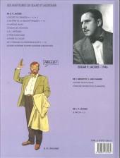 Verso de Blake et Mortimer (Les Aventures de) -11a1997- Les 3 formules du professeur sato - tome 1