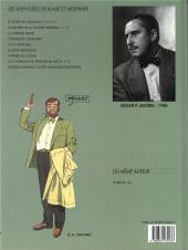 Verso de Blake et Mortimer (Les Aventures de) -7b1996- L'Enigme de l'Atlantide