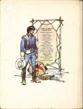 Verso de Blueberry -8b1976- L'homme au poing d'acier