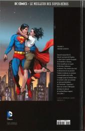 Verso de DC Comics - Le Meilleur des Super-Héros -13- Superman - Origines secrètes
