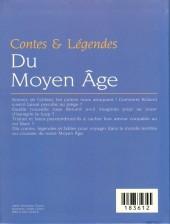 Verso de (AUT) Juillard -22b- Contes et légendes du moyen âge
