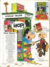 Verso de Achille Talon -1b79- Les idées d'Achille Talon cerveau-choc !