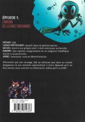 Verso de Tritons -1- L'Invasion des Lezzarks sanguinaires