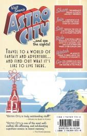 Verso de Kurt Busiek's Astro City (1995) -INT01 - Life in the Big City
