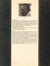 Verso de L'Âge d'ombre -151- Les habitants du crépuscule