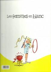 Verso de Les femmes en Blanc -4p3€- Les jeunes filles opèrent