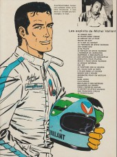 Verso de Michel Vaillant -18d1977- De l'huile sur la piste !
