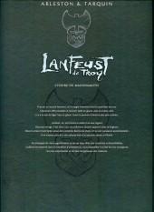 Verso de Lanfeust de Troy -3COF05- Castel Or-Azur