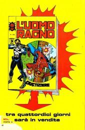 Verso de L'uomo Ragno V1 (Editoriale Corno - 1970)  -148- Un dinosauro a Broadway