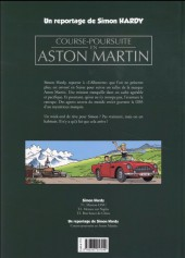Verso de Simon Hardy (Une aventure de) -HS- Un reportage de Simon Hardy - Course-poursuite en Aston Martin