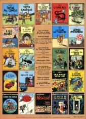 Verso de Tintin (Historique) -22C1- Vol 714 pour Sydney