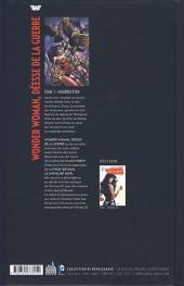 Verso de Wonder Woman - Déesse de la guerre (Urban Comics) -1- Insurrection