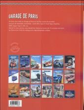 Verso de Garage de Paris -2- Dix nouvelles histoires de voitures populaires