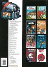 Verso de Spirou et Fantasio -1d2007- 4 aventures de Spirou et Fantasio