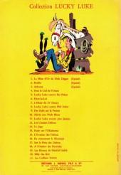 Verso de Lucky Luke -10a64- Alerte aux Pieds-Bleus