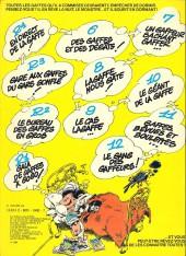 Verso de Gaston -12a1980- Le gang des gaffeurs