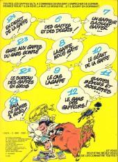 Verso de Gaston -11c1980- Gaffes, bévues et boulettes