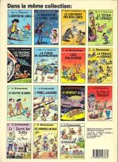Verso de Le scrameustache -1a1988- L'héritier de l'Inca