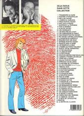 Verso de Ric Hochet -2c1992- Mystère à porquerolles