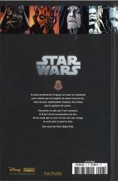 Verso de Star Wars - Légendes - La Collection (Hachette) -6VII- Le Côté Obscur - VII. Boba Fett