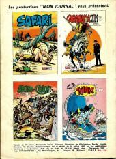 Verso de Capt'ain Swing! (1re série) -42- Le prisonnier de Tepèque