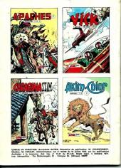 Verso de Capt'ain Swing! (1re série) -64- L'assassin mystérieux