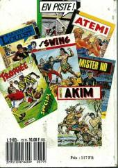 Verso de Capt'ain Swing! (1re série) -Rec079- Album N°79 (du n°267 au n°269)