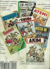 Verso de Capt'ain Swing! (1re série) -Rec092- Album N°92 (du n°243 au n°245)