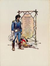 Verso de Blueberry -2d1975- Tonnerre à l'ouest