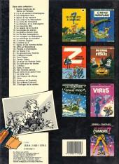 Verso de Spirou et Fantasio -34a86- Aventure en australie
