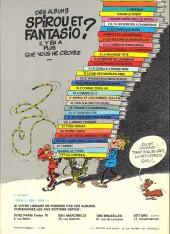 Verso de Spirou et Fantasio -24b81- Tembo tabou