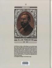 Verso de Pinkerton -4- Dossier Allan Pinkerton - 1884