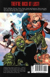 Verso de Young Avengers presents (2008) -INT- Patriot - Hulkling - Wiccan - Speed - Vision - Stature - Hawkeye
