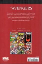Verso de Marvel Comics : Le meilleur des Super-Héros - La collection (Hachette) -1- Les Avengers