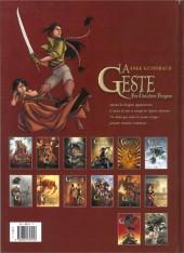 Verso de La geste des Chevaliers Dragons -3b- Le pays de non-vie