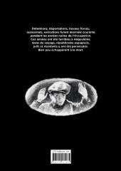 Verso de Les années noires - Angoulême 1940 - 1944