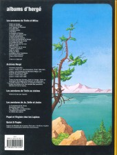 Verso de Tintin - Divers -C3c- Tintin et le lac aux requins