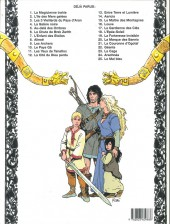 Verso de Thorgal -18a99- L'Épée-Soleil