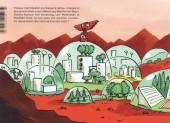 Verso de La conquête de Mars -INT- La Conquête de Mars