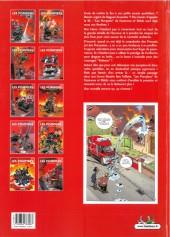 Verso de Les pompiers -7b- Graine de héros