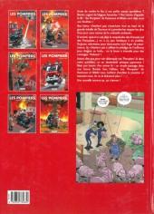 Verso de Les pompiers -2a2008- Hommes au foyer