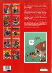 Verso de Les pompiers -1d- Des gars des eaux