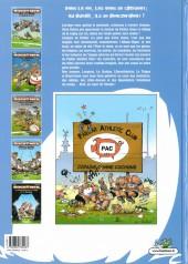 Verso de Les rugbymen -4a2007- Dimanche prochain, on jouera samedi !