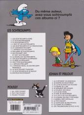 Verso de Johan et Pirlouit -2e07- Le maître de Roucybeuf