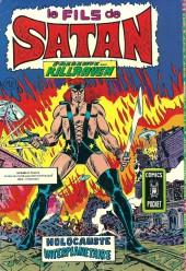 Verso de Le fils de Satan -Rec07- Album N°3742 (n°13 et n°14)