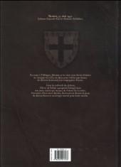 Verso de Les démons d'Armoises -3- Gilles l'hérétique