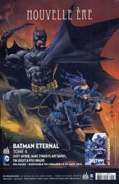 Verso de Batman Saga -45- Convergence à Gotham City