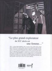 Verso de Une vie avec Alexandra David-Néel -1- Livre I