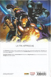 Verso de New Avengers (The) (Marvel Now!) -3- D'Autres Mondes