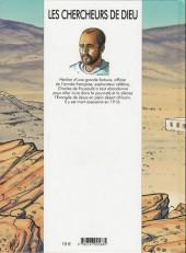 Verso de Les chercheurs de Dieu -13- Charles de Foucauld